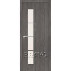 Дверь межкомнатная экошпон Тренд-4 Grey Veralinga