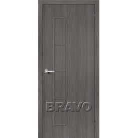 Дверь межкомнатная экошпон Тренд-3 Grey Veralinga
