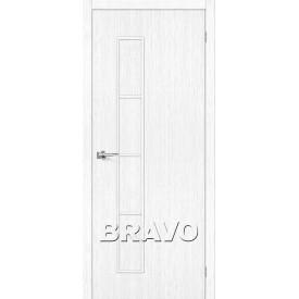 Дверь межкомнатная экошпон Тренд-3 Snow Veralinga