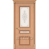 Межкомнатные двери с шпоном файн-лайн Стиль Ф-01 (Дуб) худ