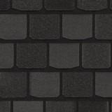 Гибкая черепица CertainTeed Highland Slate Black Granite