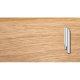 Плинтус DL Profiles Дуб Селект Глянец (Oak Select Gloss) - 027 2400х75х16