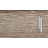 Плинтус DL Profiles Дуб Серебро (Silver Oak) - P12 2400х75х16
