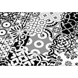 Ламинат Falquon Quadraic Black and White арт. Q002