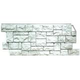 Фасадная панель FineBer Камень дикий жемчужный