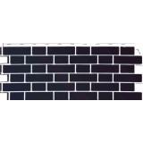 Фасадная панель FineBer Облицовочный кирпич Britt Дерби(темно-бордовый)