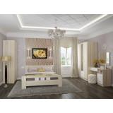 Спальня Сопрано-02 Белый глянец/Дуб сонома