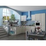 Кухня Виктория-02 Белый сандал