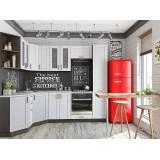 Кухня Лофт-04 Snow Veralinga