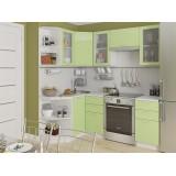 Кухня Валерия-М-04 Салатовый глянец