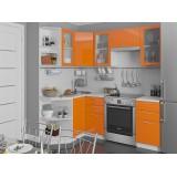 Кухня Валерия-М-04 Оранжевый глянец