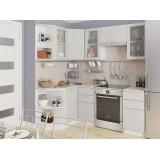 Кухня Валерия-М-04 Серый металлик дождь