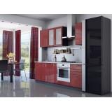 Кухня Валерия-М-03 Гранатовый металлик