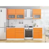 Кухня Валерия-М-01 Оранжевый глянец