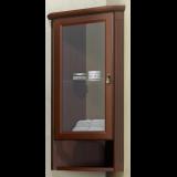 Шкаф подвесной угловой Клио левый Орех антикварный Opadiris