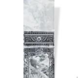 Панель ПВХ Акватон Фриз - Барон 102 черный