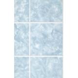 Панель ДВП Голубые небеса (Sky Blue), под кафель 10x10