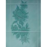 Панель ДВП Лилия Аквамар (Aquamar Lily), 15x20