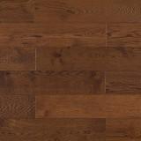 Массивная доска Amber Wood (Амбервуд) Дуб шоколад 150мм, 1,62м2