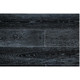 Массивная доска Amber Wood (Амбер Вуд) Дуб Черно-белый браш 120мм, 2.592 м2