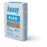 Плиточный клей ФЛЕКС КНАУФ усиленный, эластичный, мешок 25 кг