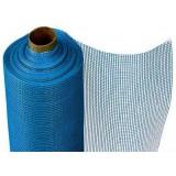 Сетка штукатурная 5х5 мм Фасадная синий