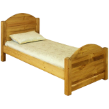 Кровать Волшебная сосна 215х90х95/66 LIT MEX 80