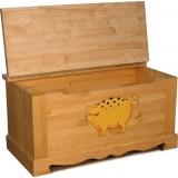 Сундук Свинка пятнистая Волшебная сосна COFFRE 100 paint Cochon mouchete
