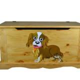 Сундук с собакой без фона Волшебная сосна COFFRE 100 Dog