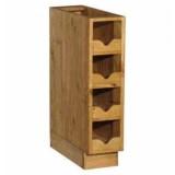 Шкаф-стол бутылочница Волшебная сосна 20х82х54 ПЛ 21