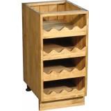 Шкаф-стол бутылочница Волшебная сосна 40х82х54 ПЛ 22