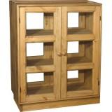 Шкаф-стол барный двери с 2-х сторон Волшебная сосна 80х102х40 ПЛ 30